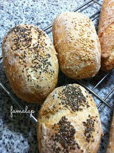 Cocina Fácil Sin Gluten: Pulguitas y baguettes sin gluten (Con lecitina de soja)