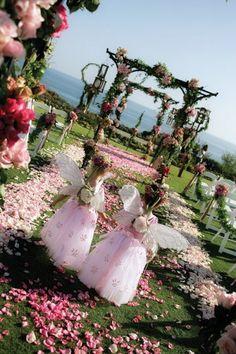 "Montage Laguna Beach - beautiful ""angelic"" flower girls! #weddings"