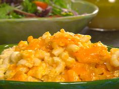 I love not turning on the oven!  Slow-Cooker Creamy Mac and Cheese  http://www.foodnetwork.com/recipes/paula-deen/creamy-macaroni-and-cheese-recipe/index.html