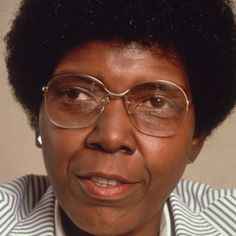 Barbara Jordan, first African-American Congresswoman to come from the Deep South...#womenleaders #blackwomenleaders