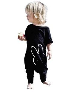 577aa617a8ab Peek-a-Bunny Jumpsuit Infant Clothing