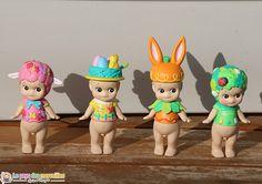 Quatre nouvelles figurines Sonny Angel de Pâques, viennent d'agrandir notre collection. Ils sont adorables et tellement craquants !