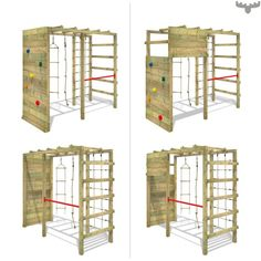 Smart Action climbing frame Buy climbing tower projects projects for kids projects for schools projects for toddlers projects nt projects uk projects using pvc pipe projects with bricks projects with wine bottles projects with wood Backyard Gym, Kids Backyard Playground, Backyard Obstacle Course, Backyard For Kids, Playground Design, Backyard Storage, Kids Climbing Frame, Wooden Climbing Frame, Climbing Wall