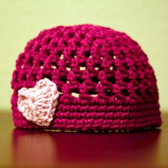 Love this hat! She always makes the cutest things!!