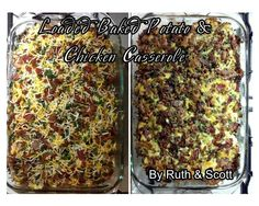 Baked Potato Chicken Casserole, Loaded Baked Potatoes, Ono Kine Recipes, Home Chef, Learn To Cook, Entrees, Dishes, Friends, Amigos