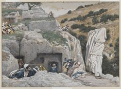 """""""The Apostles' Hiding Place"""" by James Tissot"""