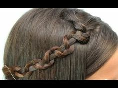 How to Make a Snake Braid. Running late in the morning and want some sassy hairstyle which is also easy to do? Try the Snake Braid. A snake braid is an alternative version of a regular braid that has the appearance of a snake. The snake. Plaits Hairstyles, Latest Hairstyles, Cute Hairstyles, Zig Zag Braid, Snake Braid, Beautiful Braids, Hair Videos, Hair Today, Hair Makeup