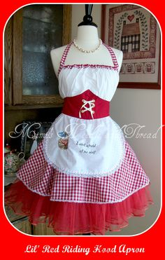 Lil'  Red Riding Hood Apron!