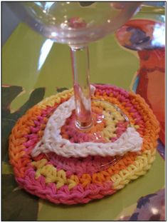 Free pattern: Glass Flip Flops