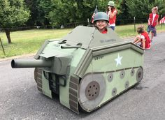 Kid Costumes, Halloween Costumes For Kids, Kids Army Costume, Army Fancy Dress, Barrel Train, Army Bedroom, Cool Nerf Guns, Cardboard Costume, Army's Birthday