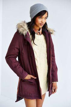 Numph New Hannah Parka - Urban Outfitters