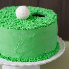 golf cake... perfect for a birthday or father's day