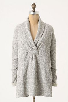 I want to snuggle up in this sweater and watch movies all day!