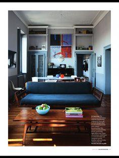13 fantastiche immagini su parete colorata cucina | Interior ...