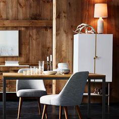 White cabinet design