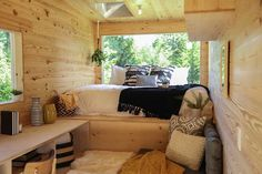 Tiny Home on the Coast: a tiny home designed for a father and daughter looking to live a more minimal lifestyle.
