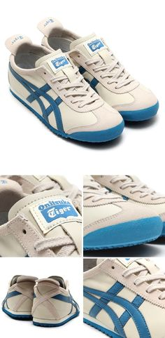 Onitsuka Tiger Mexico 66: White/Blue