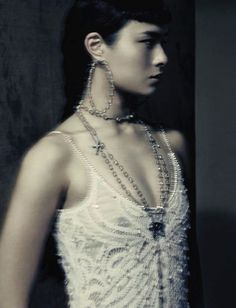Asia Chow by Paolo Roversi, Vogue Italia September 2015