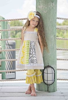 Sunday Yellow Bell Pant2T to 8 YearsNow in Stock