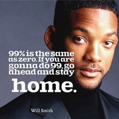 Will Smith on work ethic!
