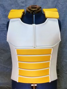 Saiyan Inspired Foam Cosplay Vest  Dragon Ball Armor by C2Props, $160.00