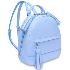 Городской рюкзак Fidelitti Zaino светло-голубой с кисточками(027-640-lu) —…