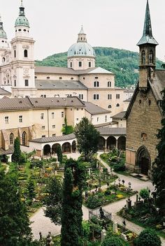 St Peter's - Salzburg, Austria | Destinations Planet