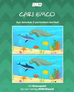 Kuis EMCO datang lagi!!! Hadiahnya UANG TUNAI Rp500.000 untuk pemenang UTAMA dan Rp100.000 untuk 10 orang pemenang hiburan!!! Tuna, Photo And Video, Painting, Instagram, Painting Art, Paintings, Atlantic Bluefin Tuna, Painted Canvas