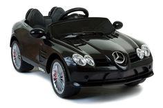 Magic Cars® 12 Volt SLR Mercedes Benz Ride On RC Car For Kids W/MP3 & Bluetooth