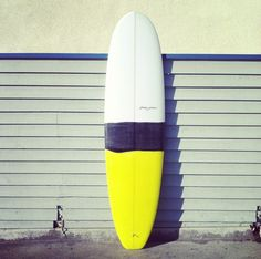 surfboard yellow stripes