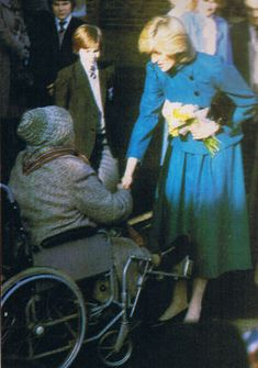 February 2, 1983: Princess Diana visits the Parchmore Methodist Church Youth and…