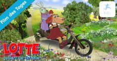 Lotte im Dorf der Erfinder – Film des Tages bei Kixi – Kinderkino