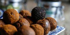 Nyttigt recept på paleobollar med rejäl smak av lakrits