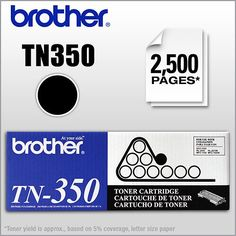 Brother - Toner Cartridge for Select Brother Printers, Copiers and Fax Machines - Black