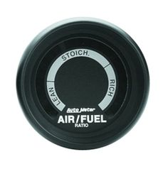 Auto Meter 2675 Z-Series; Electric Air Fuel Ratio Gauge