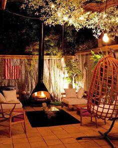 Cozy & Warm ❤️ #cozydecor #lareira #fireplace #decor #decoração #homedecor #inspiração #inspiring #cozy #cosi_home