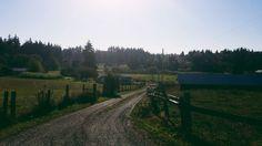 dreamy farm roads