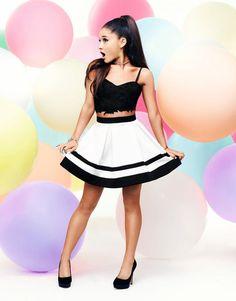 Ariana Grande // Lipsy Photoshoot