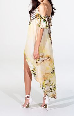 Shahida Parides Designer Cami Dress - Style it up with a strappy statement heel for a classic bohemian look. This is a great dress to throw on if you're attending Coachella. Just throw on some gladiators and funky accessories for a cozy outfit you can relax in all day long.