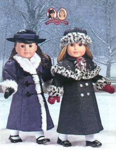American Girl: Nellie's Holiday Coat RETIRED #AmericanGirl #Accessories