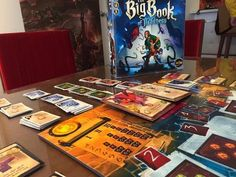 Designer Diary: The Big Book of Madness, or Through Designing Vagaries and Multiple Themes | BoardGameGeek News | BoardGameGeek