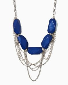 Stone & Swag Chain Necklace #charmingcharlie #ccstyle #libertygirl