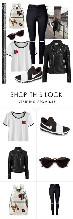 """""""Day #167"""" by madmuasel21 on Polyvore featuring moda, NIKE, Witchery, RetroSuperFuture, Marc Jacobs, ElDiarioDeASTREA y mademoisellelg"""