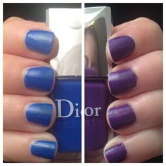 "Dior ""Carly Manicure"" - see www.lacqueredlover.com for more!"