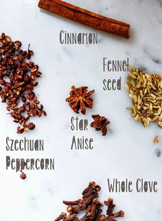 The Five Spices of Chinese Five spice …and how to make it and use it!