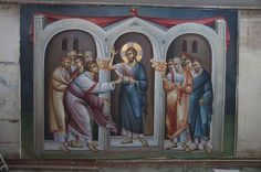 2 posts published by iconsalevizakis during September 2015 Doubting Thomas, House Illustration, Orthodox Icons, Artist Art, Art History, Christianity, Religion, Painting, September