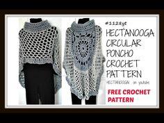 diy, CROCHET A CIRCULAR PONCHO, MANDALA CAPE, ASYMMETRICAL SHAWL, pattern  #1128yt - YouTube