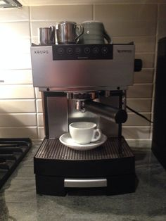 Krups Nespresso 554 A  Over 13 years old and still brewing