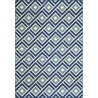 Momeni Baja Blue Indoor/Outdoor Area Rug | AllModern