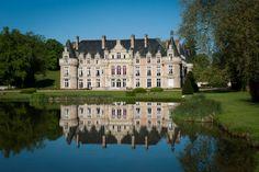 Wedding Chateau in France Chateau Esclimont #wedding #venue